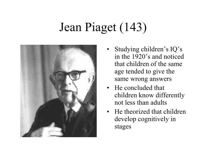 Jean Piaget (143)