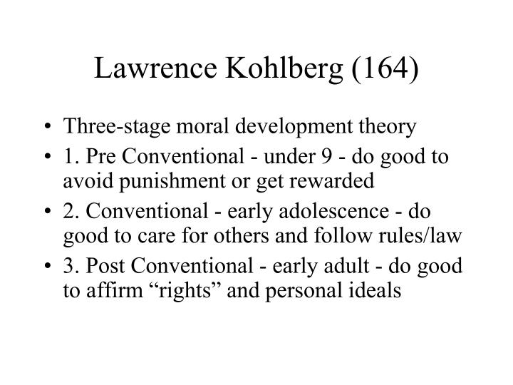 Lawrence Kohlberg (164)