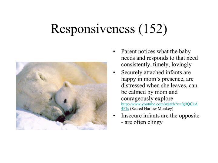 Responsiveness (152)