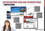 integrated online marketing mediums