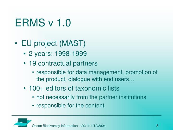 ERMS v 1.0
