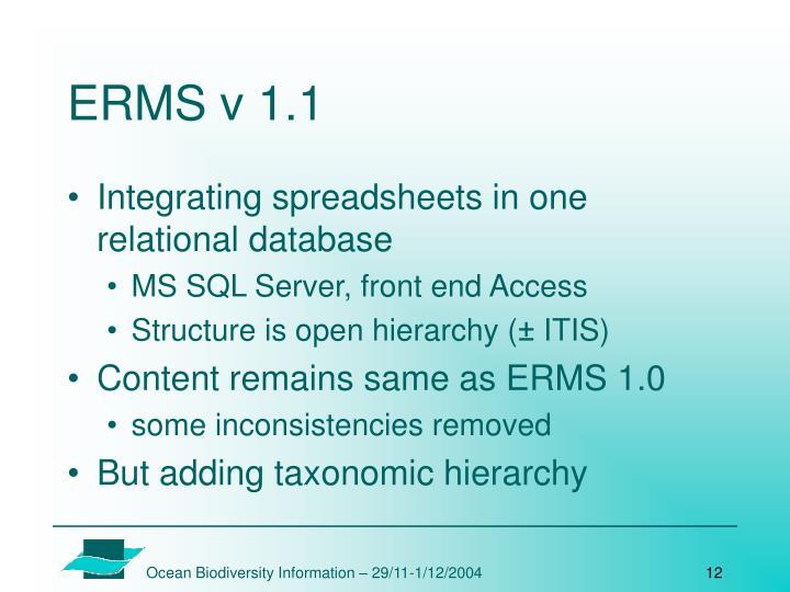 ERMS v 1.1