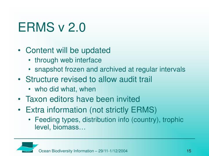 ERMS v 2.0