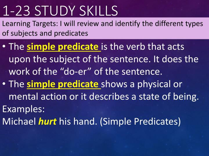 1-23 Study Skills