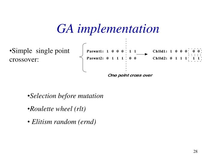 GA implementation