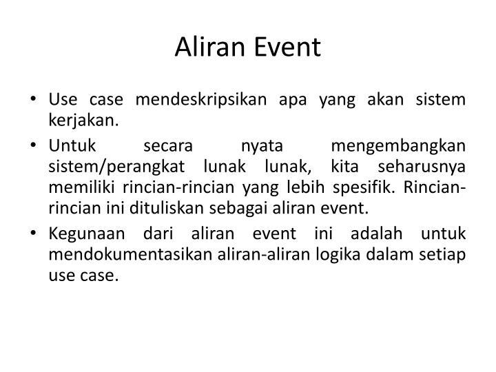 Aliran Event