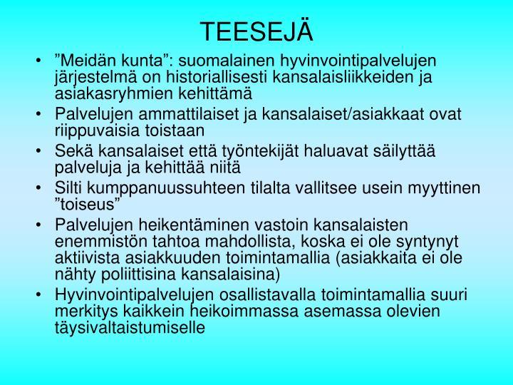TEESEJÄ