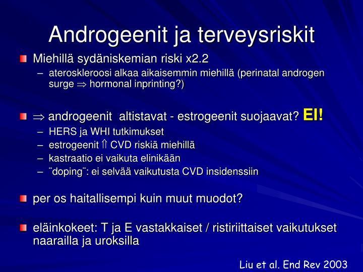 Androgeenit ja terveysriskit