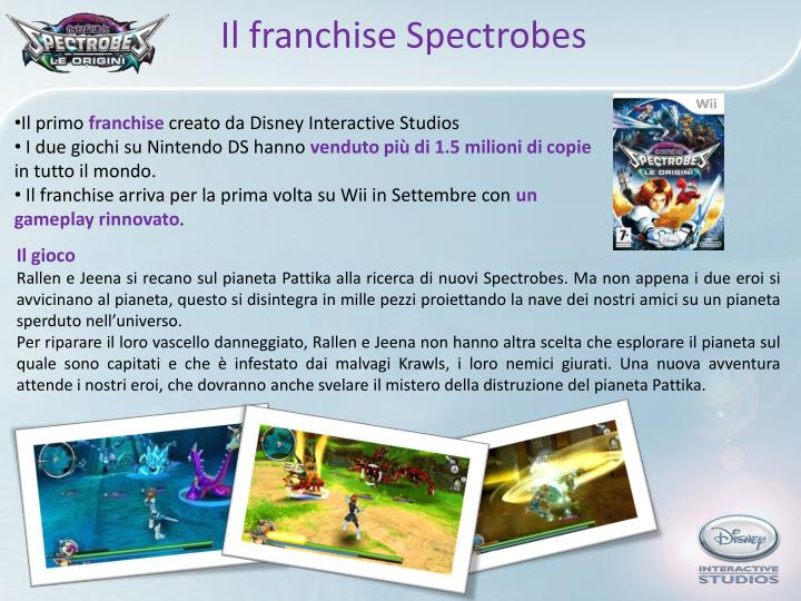 Il franchise Spectrobes