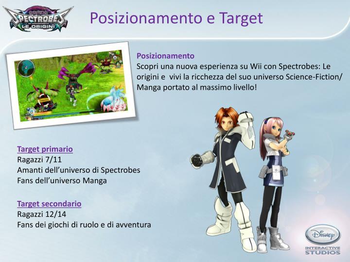 Posizionamento e Target