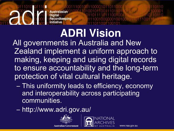 ADRI Vision