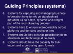 guiding principles systems
