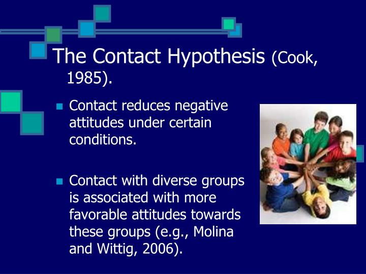 The Contact Hypothesis