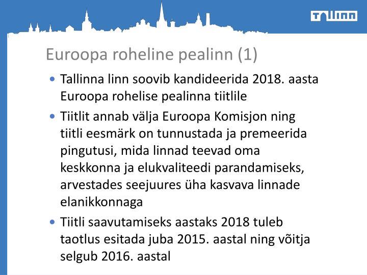 Euroopa roheline pealinn (1)