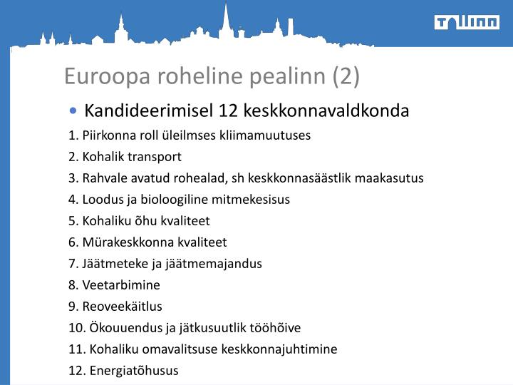 Euroopa roheline pealinn (2)