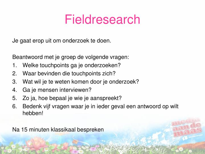 Fieldresearch