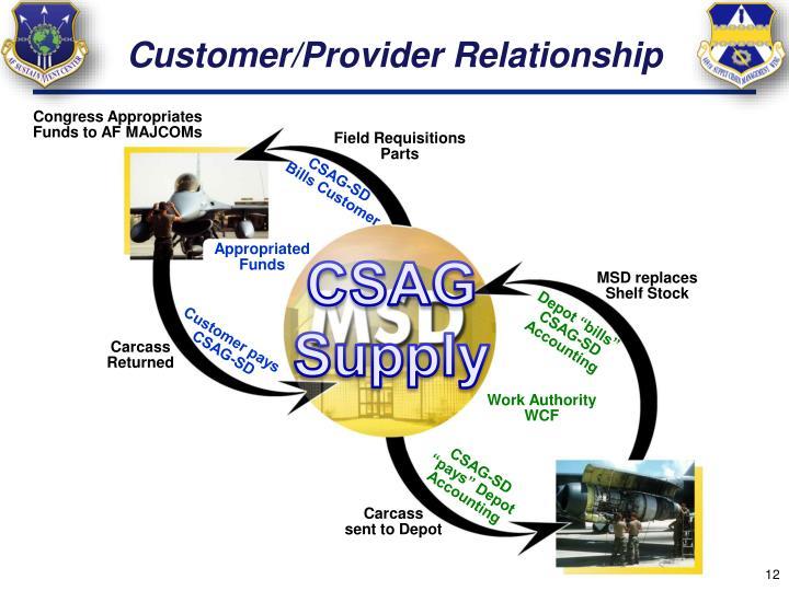 Customer/Provider