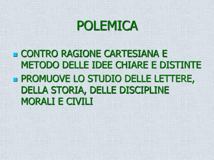 POLEMICA