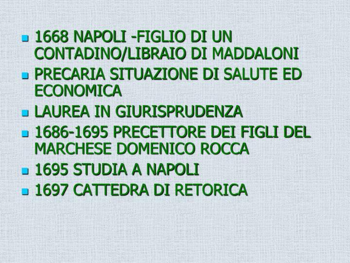 1668 NAPOLI -FIGLIO