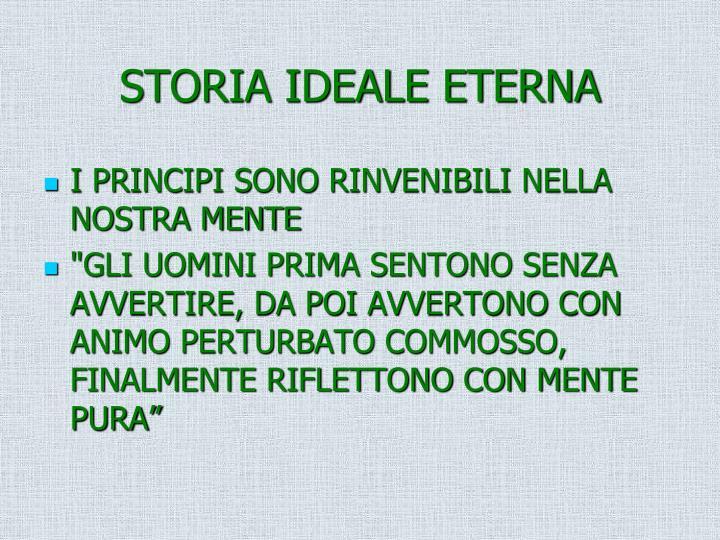 STORIA IDEALE ETERNA