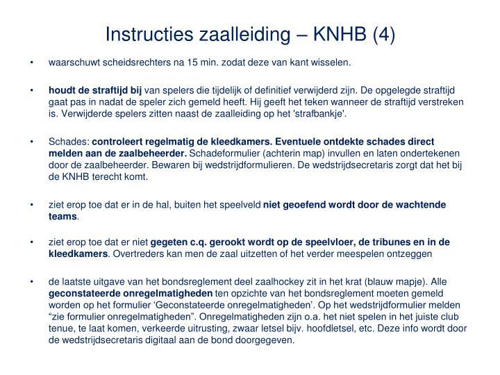 Instructies zaalleiding – KNHB (4)