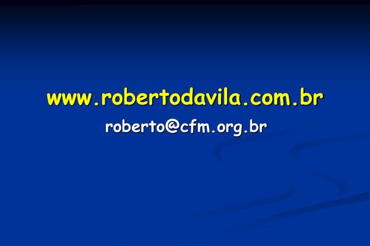 www.robertodavila.com.br