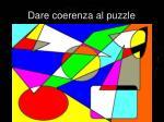 dare coerenza al puzzle