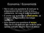 economia economicit