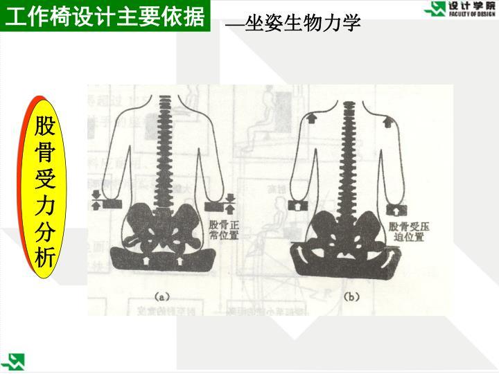 工作椅设计主要依据