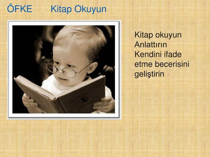 ÖFKE       Kitap Okuyun