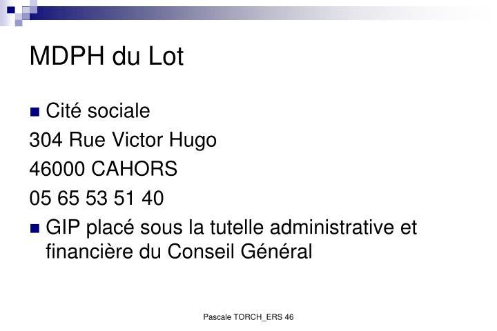 MDPH du Lot