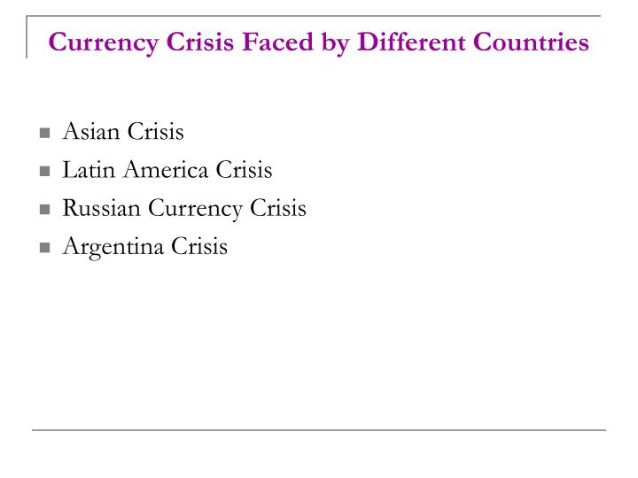 the various crises that faced the Fiscal crises feature as the top risk in this year's global risks report advanced  economies remain in danger, while many emerging markets.