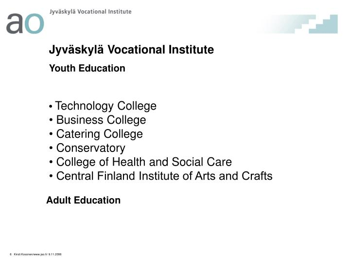 Jyväskylä Vocational Institute