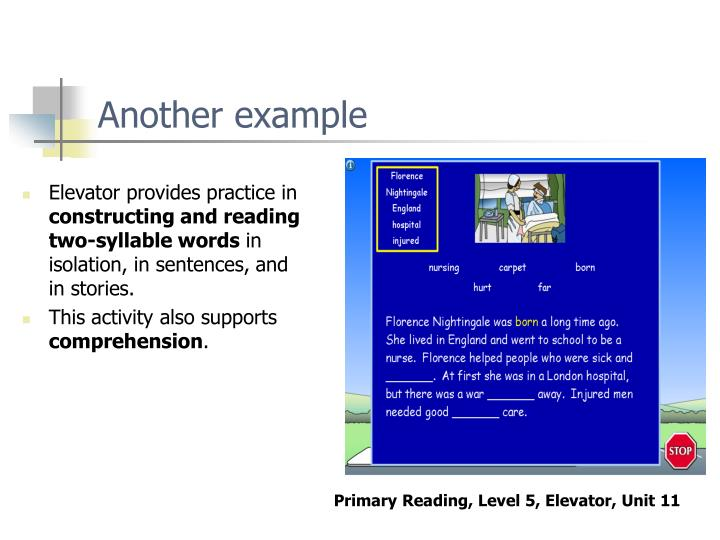 Elevator provides practice in