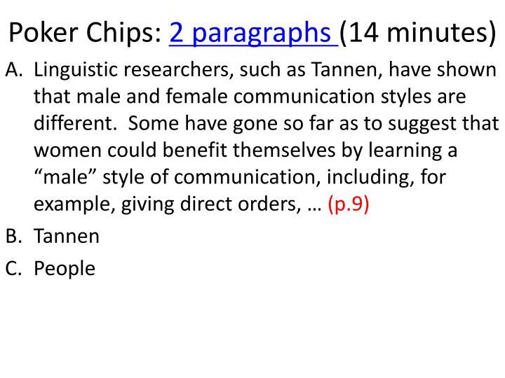 Poker Chips: