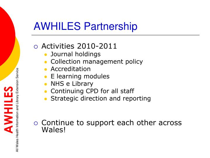 AWHILES Partnership
