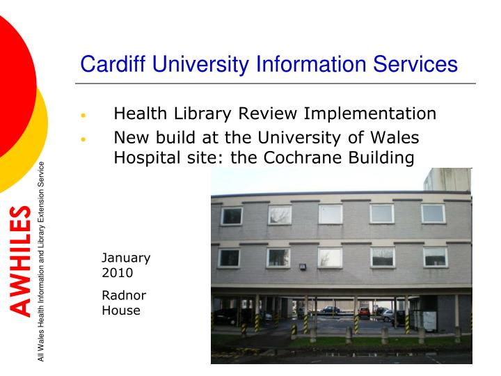 Cardiff University Information Services