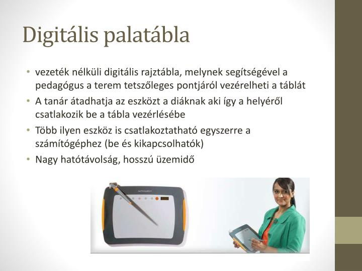 Digitális palatábla