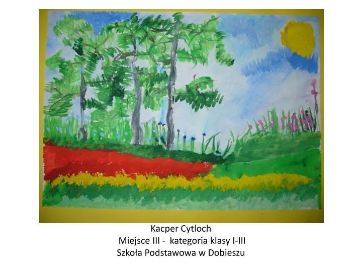 Kacper Cytloch