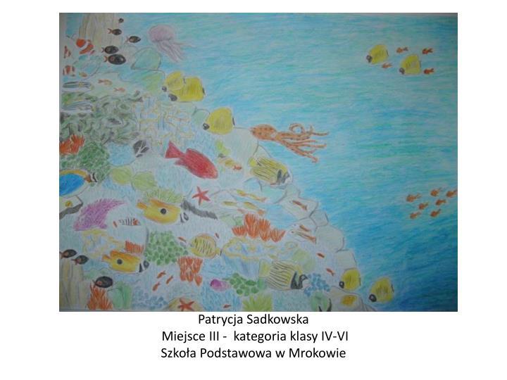 Patrycja Sadkowska