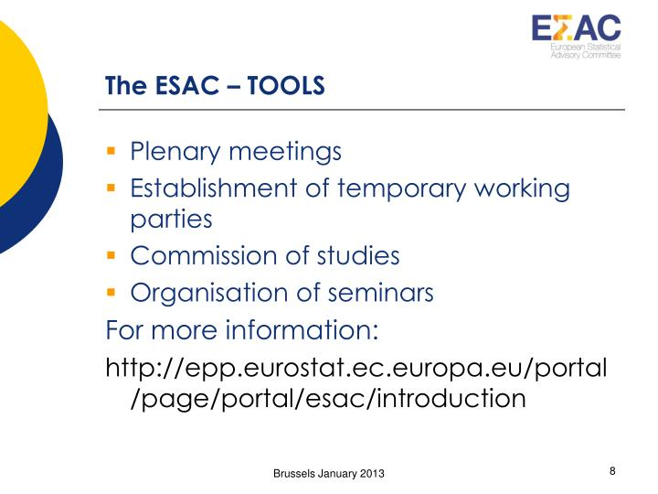 The ESAC – TOOLS