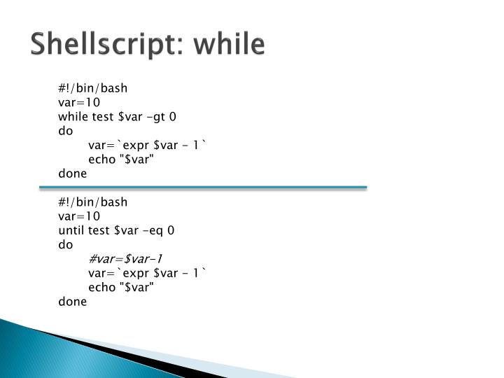 Shellscript