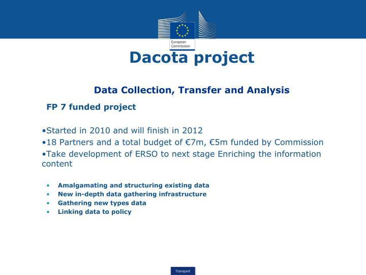 Dacota project