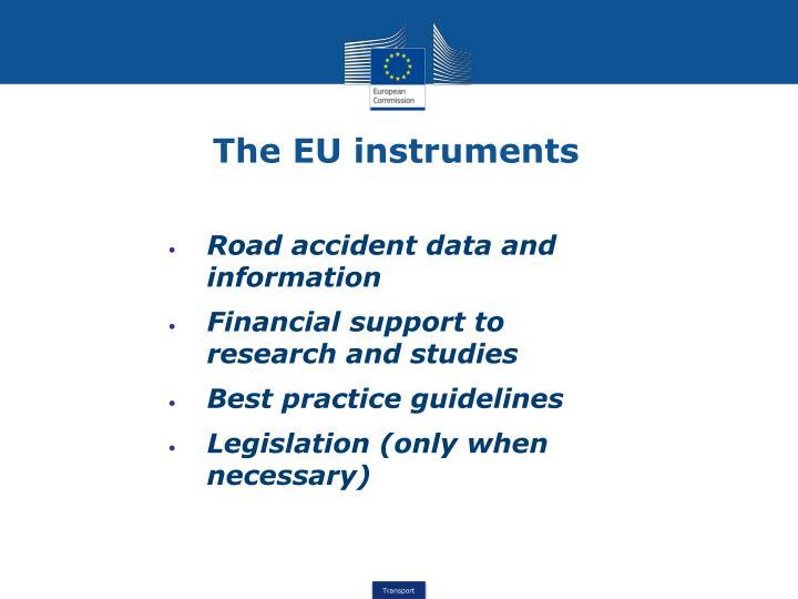The EU instruments