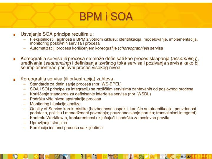 BPM i SOA