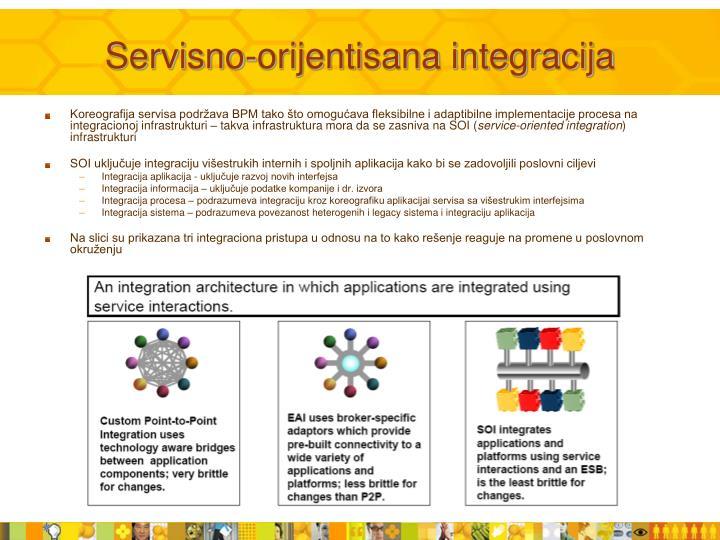 Servisno-orijentisana integracija