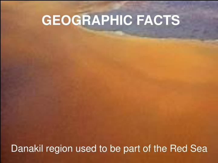 GEOGRAPHIC FACTS