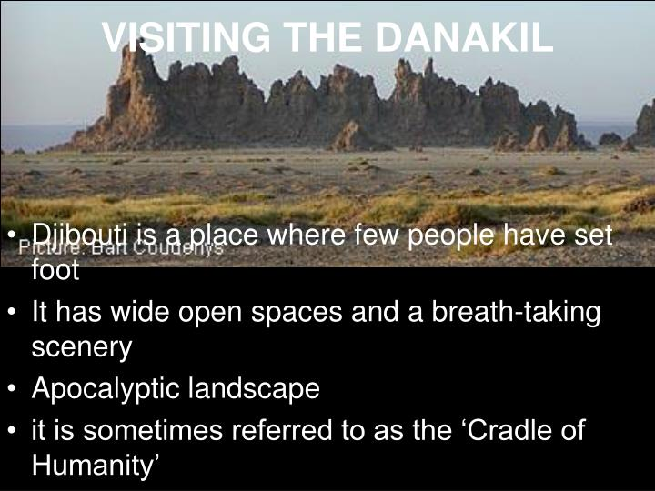 VISITING THE DANAKIL