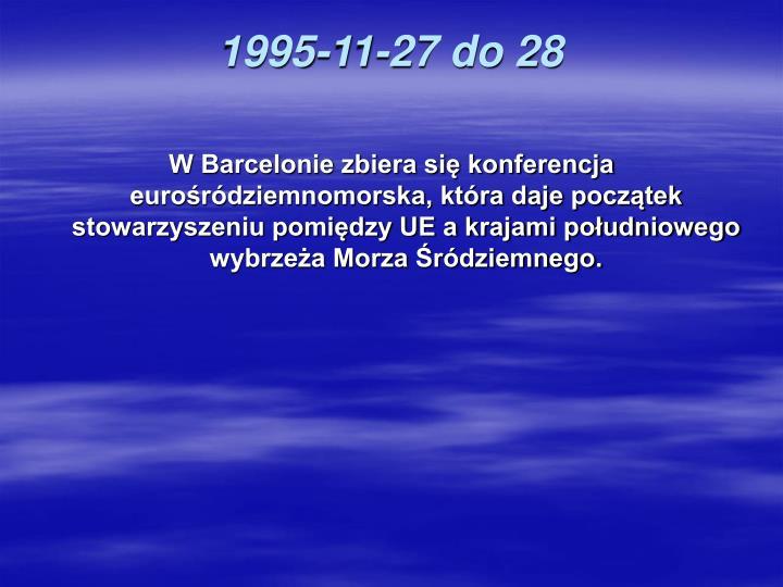 1995-11-27 do 28