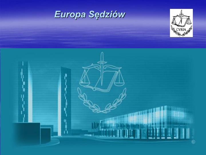 Europa Sędziów